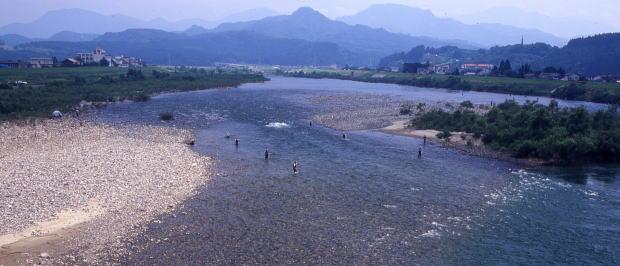 美しい清流荒川